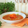 Paprika-Safran-Suppe