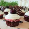 Red Velvet Cupcakes mit Frischkäsehaube