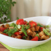 Asia-Taboulé mit Tofu