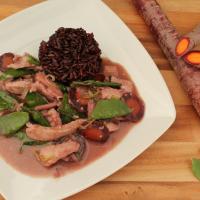 Curry mit Lila Reis - Indien trifft Thailand!