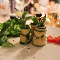 Zucchiniröllchen - Arbeit, die sich lohnt