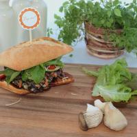 Quinoa-Pattie - vegetarische Burgervariante