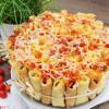 Cannelloni-Torte mit Frischkäse
