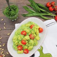 Gnocchi mit Bärlauchsoße