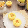 Birne-Vanille-Cupcakes
