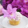 Blaubeer-Limette-Cupcakes