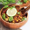 One Pot Vegan Quinoa Bowl