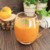 Orange geröstete Tomatensuppe