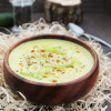 Zucchini-Curry-Suppe mit Lauch