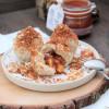 Topfenknödel mit Marmeladen-Füllung