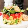 Mango-Avocado-Salat mit Garnelen