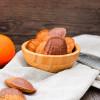 Orangen-Mandel-Madeleines