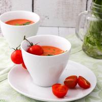 Bärlauch-Tomatensuppe