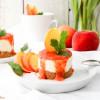 No Bake Schoko-Quark-Törtchen mit Pfirsich