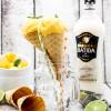 Kokos-Mango-Eis mit Schwips und ein Gewinnspiel