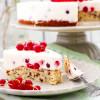 Johannisbeer-Joghurt-Torte mit Rührteig