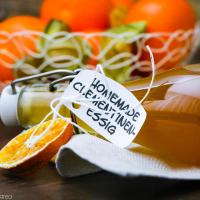 Mandarinen-Essig selber machen