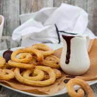 Churrospiralen aus dem Ofen