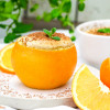 Schokosoufflé mit Orange