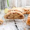 Hefekranz mit Nuss-Eierlikör-Füllung zu Ostern