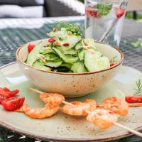 Gurken-Dill-Salat und Tipps zu