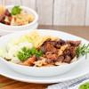 Ochsenschwanzragout mit Spitzkohl