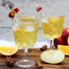 Winterlicher Apfel-Zimt-Cocktail mit Sinalco
