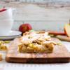 Süß-saurer Apfel-Rhabarber-Pie