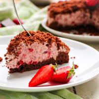 Schokoladiger Erdbeer-Maulwurfkuchen