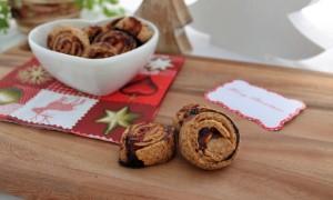 Zwetschgenkringel mit Weihnachtsmarmelade