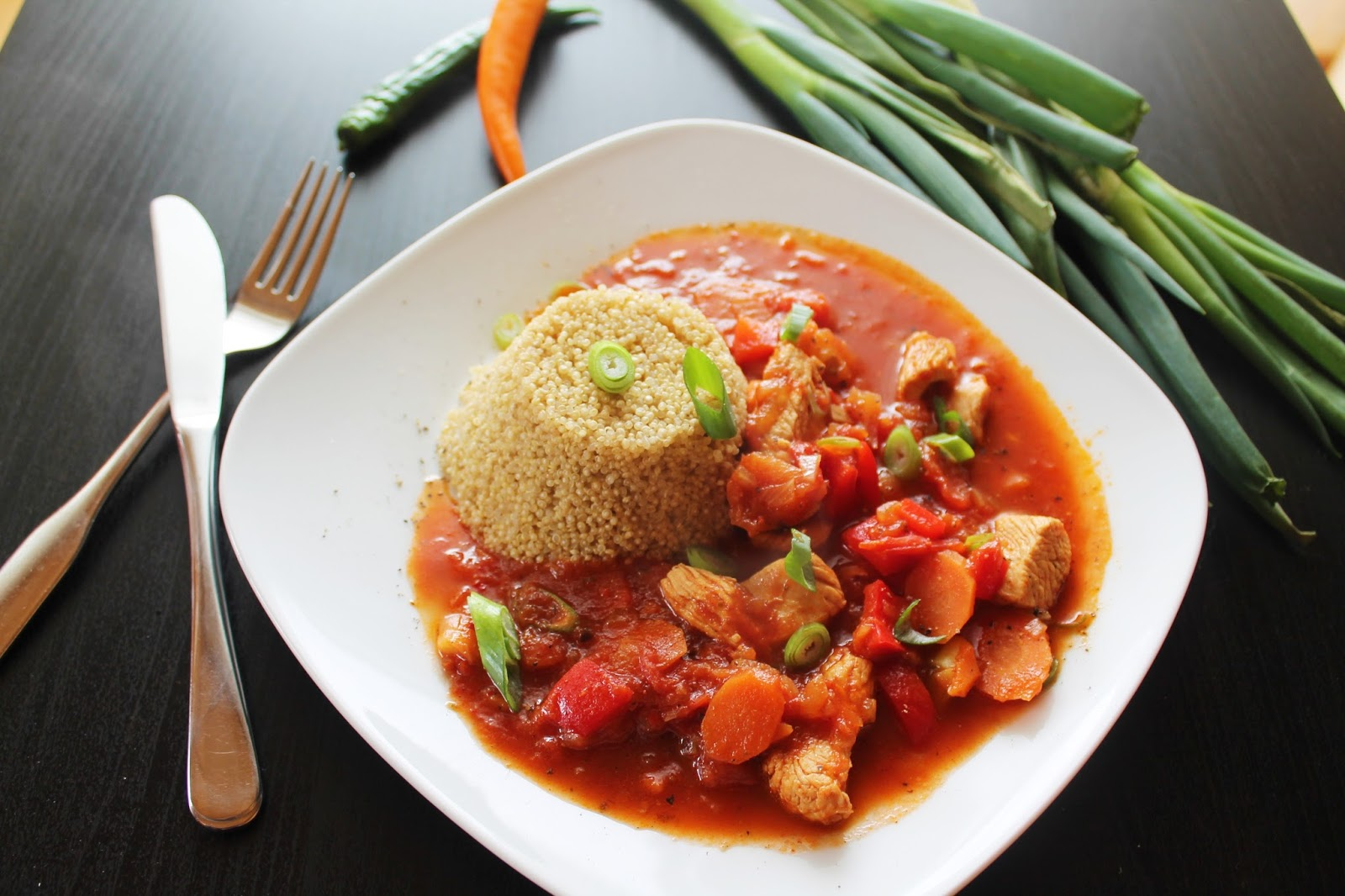 Hühnchen Auf Marokkanisch Mit Quinoa Cb With Andrea