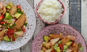 Asiatischer Salat mit Pomelo und Hühnchen [Gastbeitrag]
