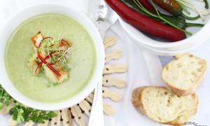 Kohlrabi-Kräuter-Suppe mit Zander-Filet [Gastbeitrag]