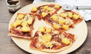 Barbecue Hawaii Pizza