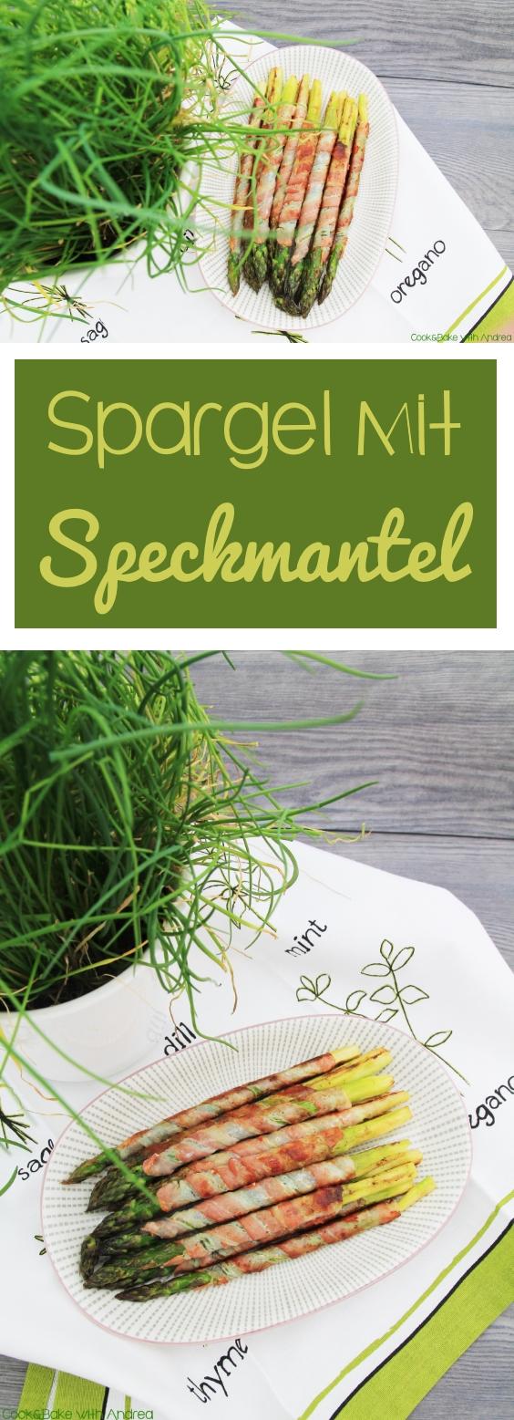 Gegrillter Spargel - Grillen im Sommer - www.candbwithandrea.com - Rezept - Collage
