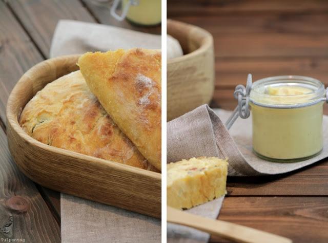 C&B with Andrea - Chili-Baguette-mit-Chili-Kraeuter-Butter - Die 10 besten herzhaften Sommergerichte - Tulpentag