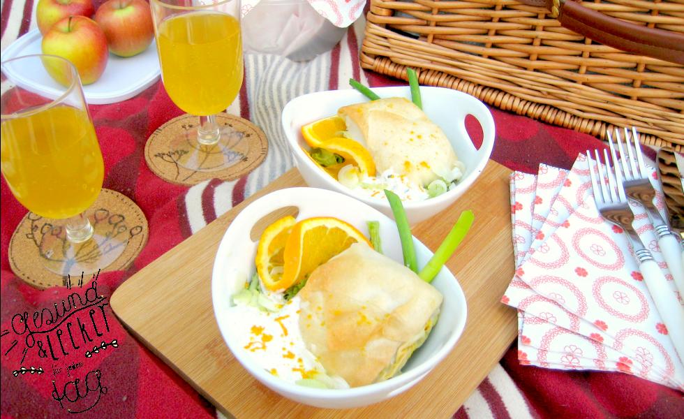 C&B with Andrea - Filoteig mit vegetarischer Füllung - Die 10 besten herzhaften Sommergerichte - Julesmoody