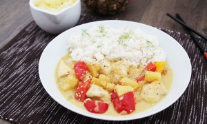 Curry mit Ananas