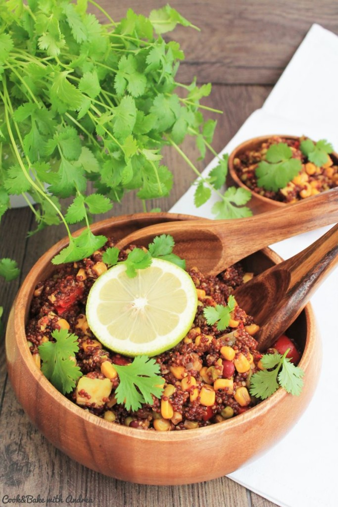 C&B with Andrea - One Pot Quinoa Bowl vegan - www.candbwithandrea.com1