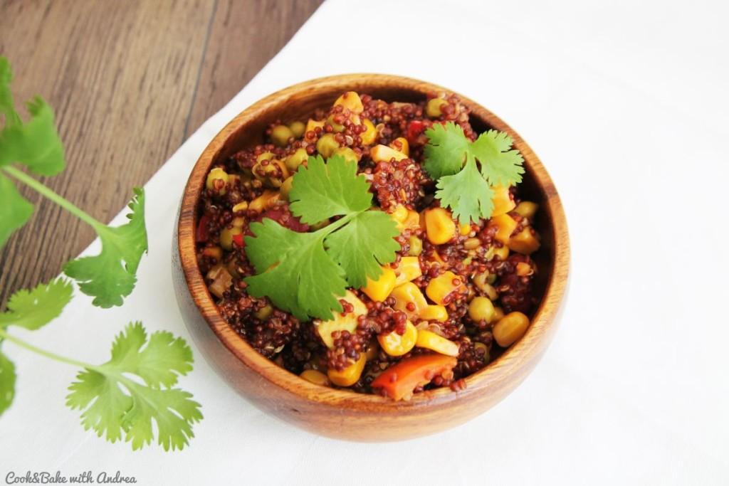 C&B with Andrea - One Pot Quinoa Bowl vegan - www.candbwithandrea.com4