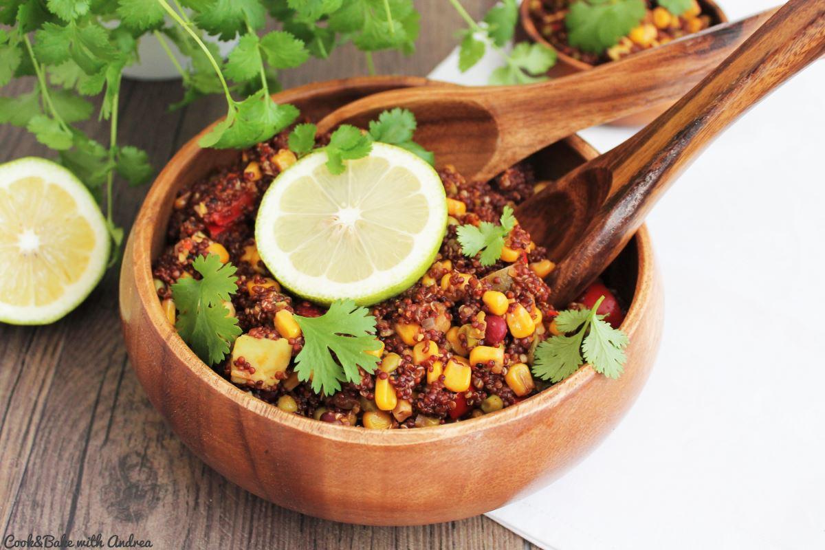 One Pot Vegan Quinoa Bowl - C&B with Andrea