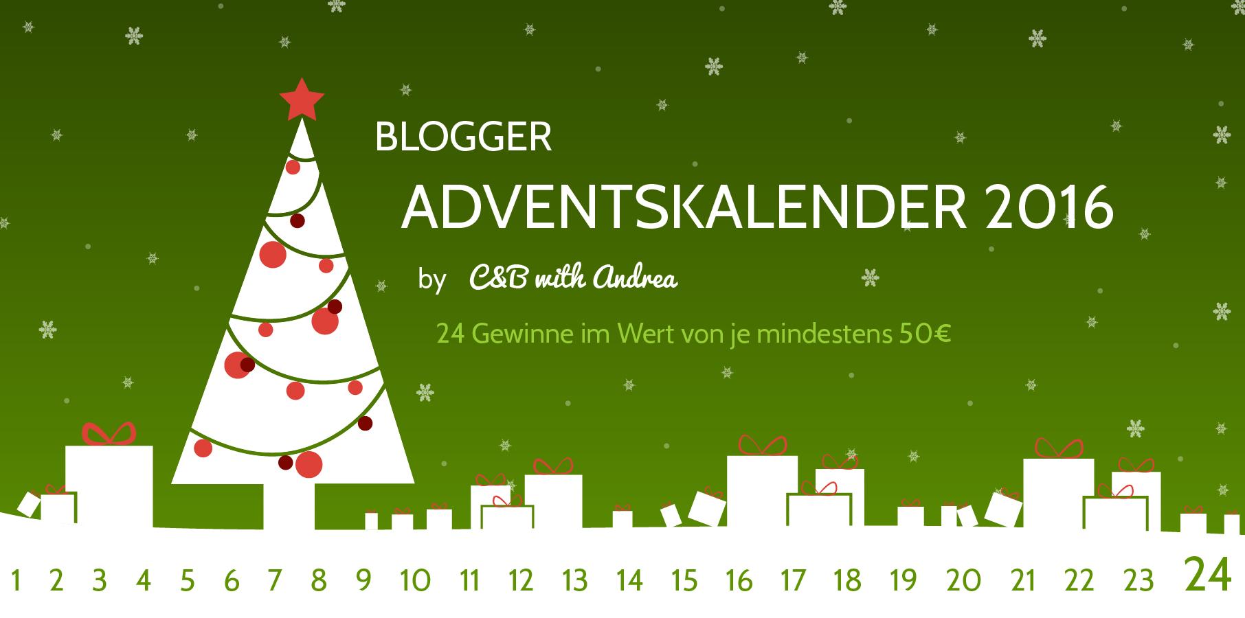 Blogger-Adventskalender - Gewinnspiel - C&B with Andrea