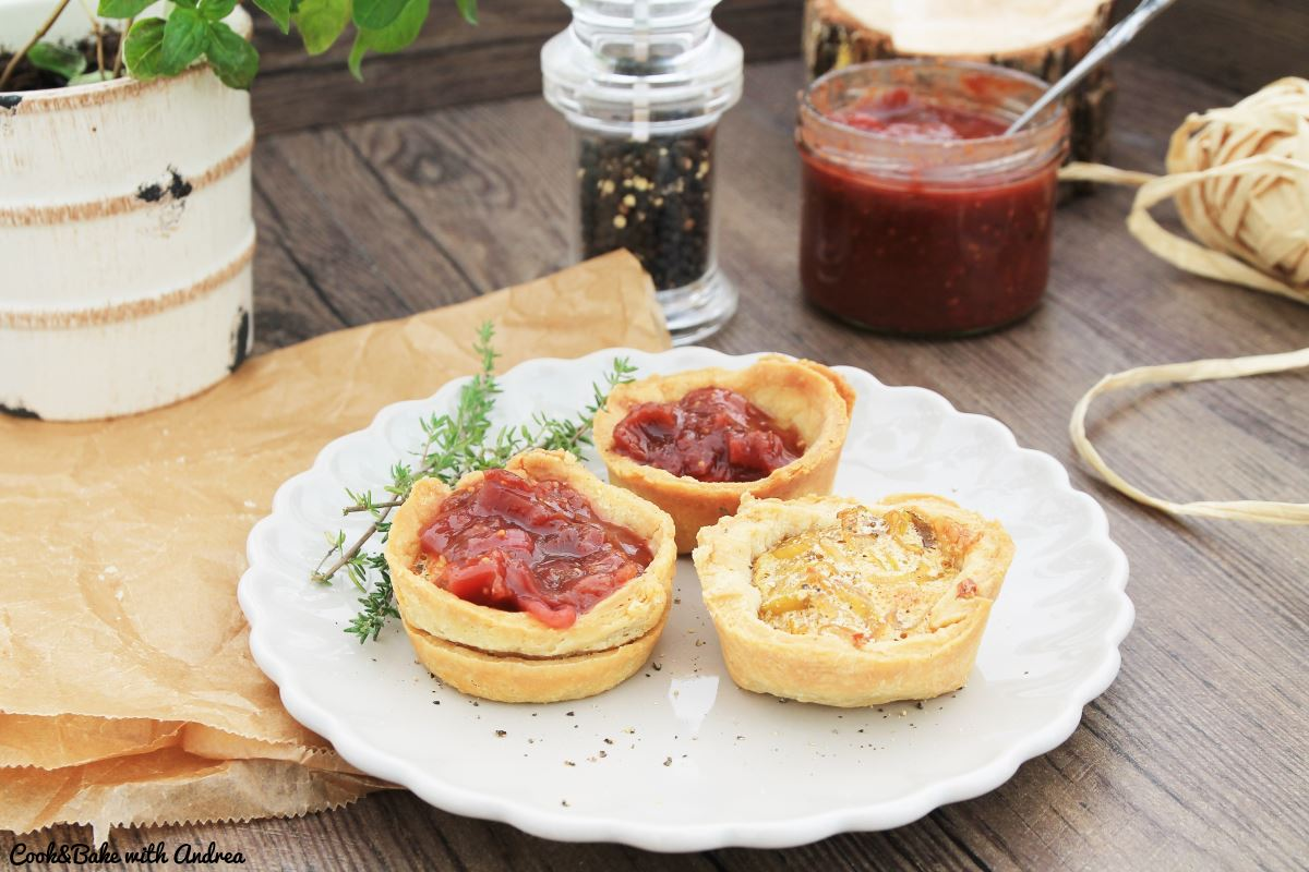 Mini Zwiebel Quiches Mit Chutney C B With Andrea