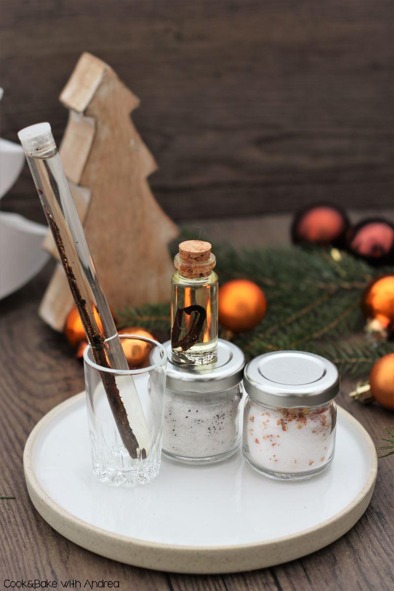 Aromaöl, -salz und -zucker selber machen