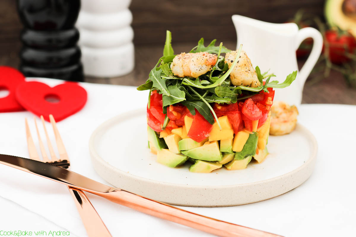 mango avocado salat mit garnelen c b with andrea. Black Bedroom Furniture Sets. Home Design Ideas