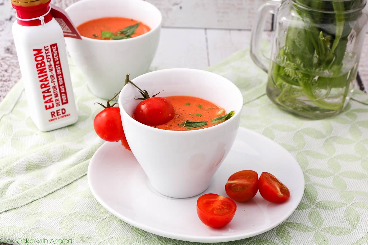 C&B with Andrea - Bärlauch- Tomatensuppe mit Ziegenfrischkäse Rezept - www.candbwithandrea.com4