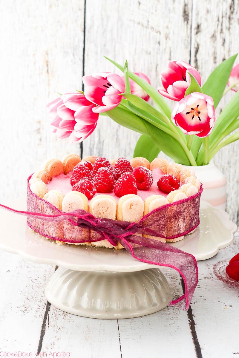 Der Sommer bietet so viele tolle Früchte, Obst und Beeren! Ich liebe diese Saison und ich liebe Beeren. Deswegen habe ich mich letztens an einer fruchtig-frischen Himbeer-Charlotte probiert. Für dieses Rezept müsst ihr nicht mal den Ofen anwerfen!