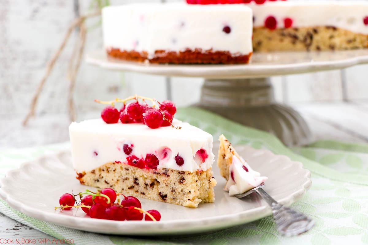 Johannisbeer Joghurt Torte Mit Rührteig Cb With Andrea