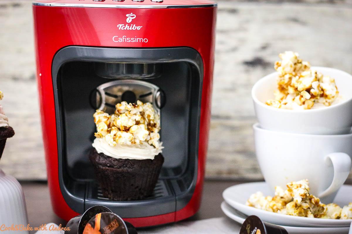 Kaffee-Cupcakes: Schnell gemacht und genau die richtige Menge für den kleinen Heißhunger zwischendurch. So einfach kann lecker sein. Das Rezept findet ihr auf dem Blog von Cook and Bake with Andrea.