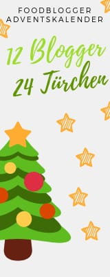 12 Blogger - 24 Türchen - Foodblogger Adventskalender.